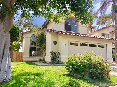 Oceanside Single Family Home For Sale: 1837 Avenida Segovia
