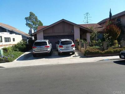 San Diego Single Family Home For Sale: 3335 Biscay Drive