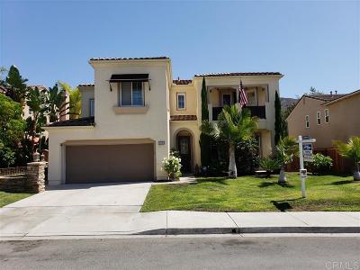 Chula Vista Single Family Home For Sale: 2401 Paseo Los Gatos
