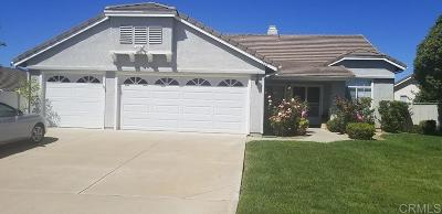 Oceanside Single Family Home For Sale: 359 Solano Bay Ct