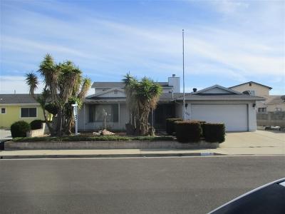 Chula Vista Single Family Home For Sale: 1555 Jasper Ave