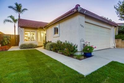 Single Family Home For Sale: 15852 Caminito Cercado