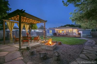 San Diego Single Family Home For Sale: 5558 Grape St