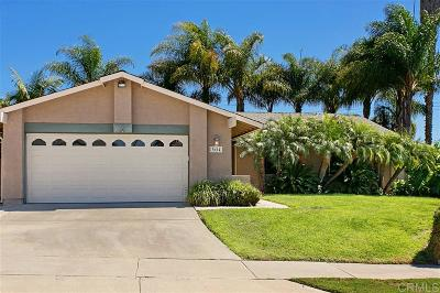 Oceanside Single Family Home For Sale: 3654 Azure Lado Dr.