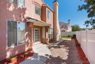 Chula Vista Townhouse For Sale: 409 Sanibelle Circle #55