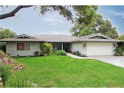 Escondido Single Family Home For Sale: 27509 Mountain Meadow Road