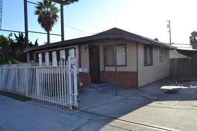 San Diego Multi Family 2-4 For Sale: Fairmont Avenue
