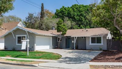 San Diego Single Family Home For Sale: 265 Los Reyes Dr.