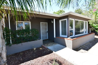 San Diego Single Family Home Pending: 6269 Mary Lane Dr