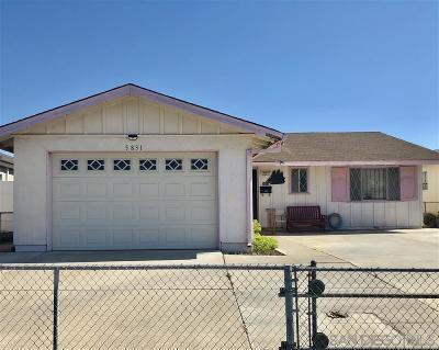 San Diego Single Family Home For Sale: 5831 Greycourt Ave.