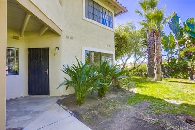 Ocean Side, Oceanside Attached For Sale: 3451 Paseo De Alicia #5