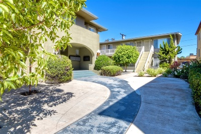 San Diego Multi Family 5+ For Sale: 3575-85 6th Ave