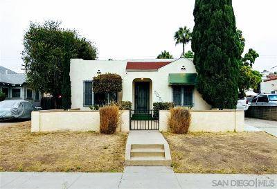 Normal Heights Single Family Home For Sale: 5052 35th St.