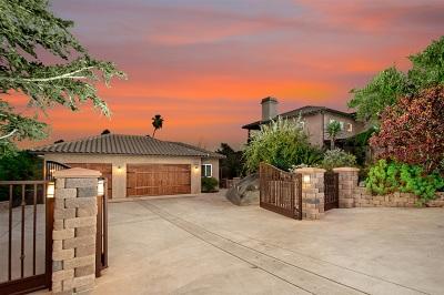 La Mesa Single Family Home For Sale: 4815 Alzeda Drive