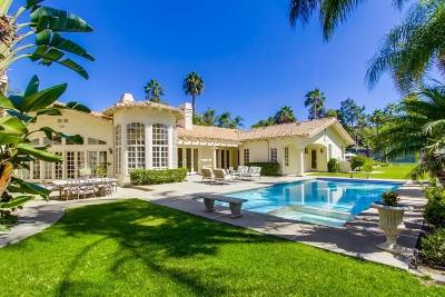 Rancho Santa Fe Single Family Home For Sale: 6909 Rancho La Cima