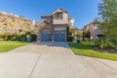 San Marcos Single Family Home For Sale: 1121 Calistoga Way