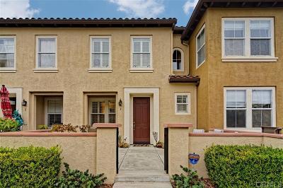 San Diego Townhouse For Sale: 7855 Via Montebello #5
