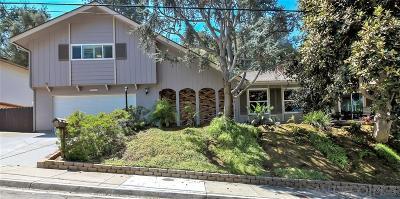San Diego Single Family Home For Sale: 4859 Kane Street