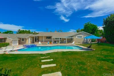 Bonita Single Family Home For Sale: 3824 Valle Verde St.