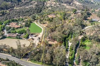 Rancho Santa Fe Single Family Home For Sale: 16330 Rambla De Las Flores