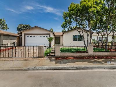 Single Family Home For Sale: 10187 Mayor Circle