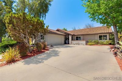 Single Family Home For Sale: 10420 Mesa Madera Dr