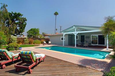 La Mesa Single Family Home For Sale: 6170 Cowles Mountain Blvd
