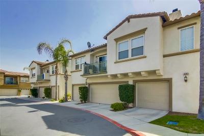 San Diego Townhouse For Sale: 6303 Avenida De Las Vistas #4