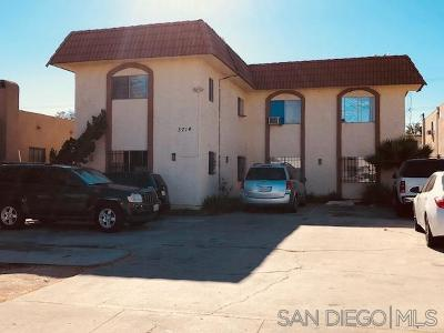 San Diego Multi Family 5+ For Sale: 3714 42nd Street