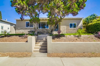 San Diego Single Family Home For Sale: 2507 54th St