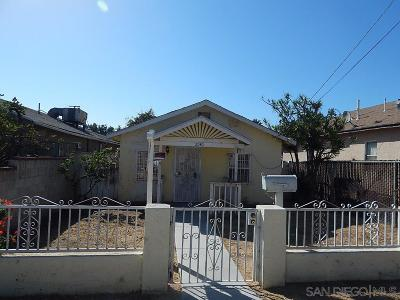 San Diego Single Family Home For Sale: 2040 Osborn St