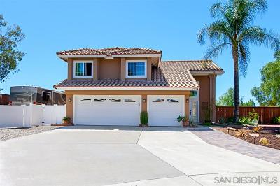 Riverside County Single Family Home For Sale: 27595 Dandelion Court