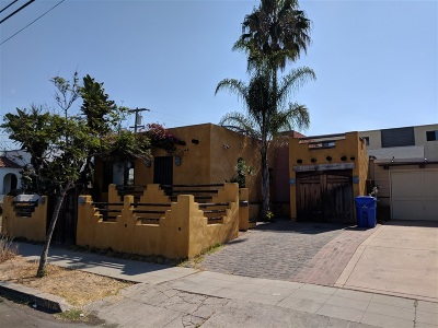 San Diego Single Family Home For Sale: 3765 Vermont