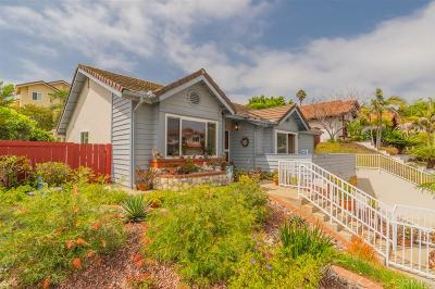 Carlsbad Single Family Home For Sale: 1881 High Ridge Ave