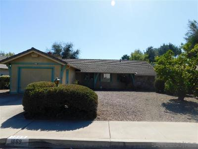 Escondido CA Single Family Home For Sale: $449,000