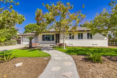 La Mesa Single Family Home For Sale: 6345 Southern Rd