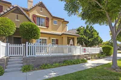 Chula Vista Townhouse For Sale: 1351 Little Lake Street
