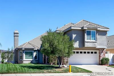 Riverside County Single Family Home For Sale: 23190 Joaquin Ridge Dr.