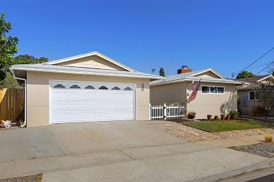 San Diego Single Family Home For Sale: 3881 Mount Aladin