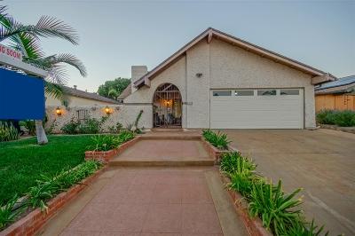Chula Vista Single Family Home For Sale: 1357 Cerritos Ct