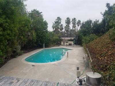 La Mesa Single Family Home For Sale: 5611 Morro Way