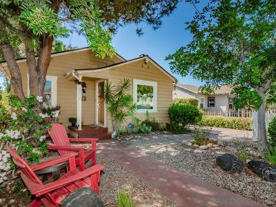 North Park Single Family Home For Sale: 3108 Nile Street