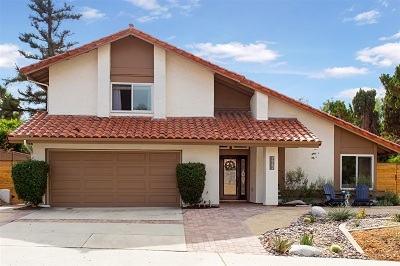 Carlsbad Single Family Home For Sale: 7962 Los Pinos Cir