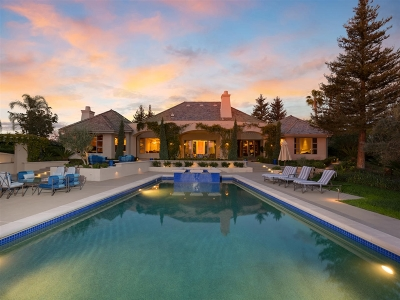 Rancho Santa Fe Single Family Home For Sale: 6311 Calle Del Alcazar