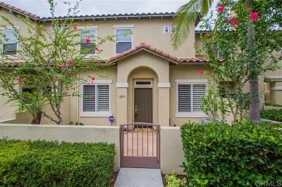 Carlsbad Townhouse For Sale: 6295 Citracado Circle