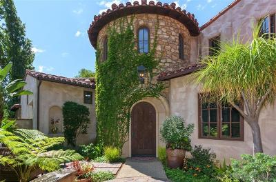 Rancho Santa Fe Single Family Home Sold: 6937 Corte Spagna