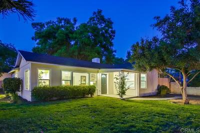Single Family Home For Sale: 1708 E Alvarado