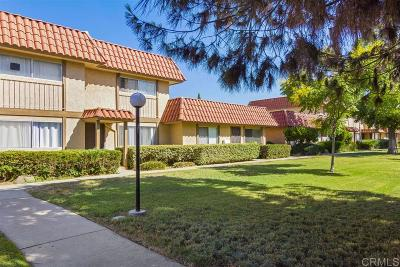 Escondido CA Townhouse For Sale: $275,000