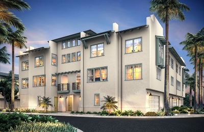 San Diego Townhouse For Sale: 5103 Calle Rockfish #Lot 94,
