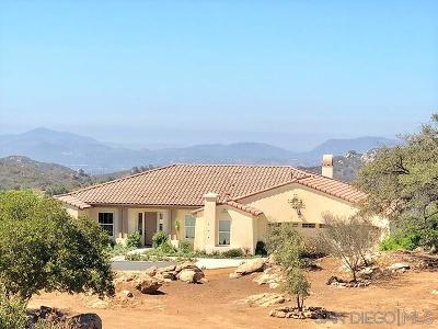Valley Center Single Family Home For Sale: 26730 Cado View Ct.